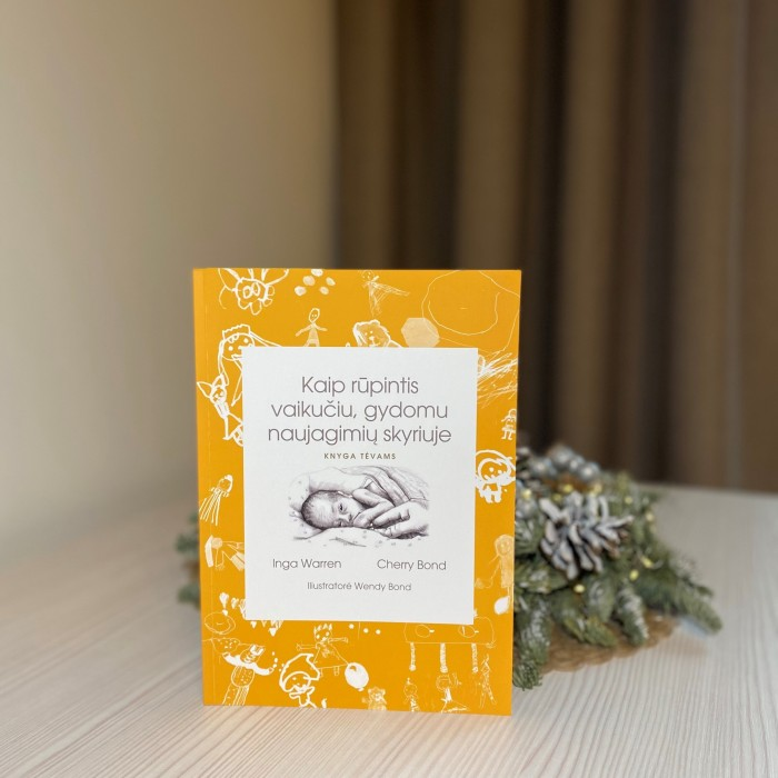 Knyga ,,Kaip rūpintis vaikučiu, gydomu naujagimių ligų skyriuje